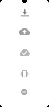 Explicação dos ícones - Motorola Moto E6 Plus - Passo 7