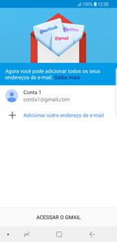 Como configurar seu celular para receber e enviar e-mails - Samsung Galaxy S9 - Passo 13