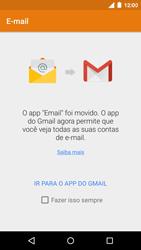 Como configurar seu celular para receber e enviar e-mails - Motorola Moto G (3ª Geração) - Passo 4