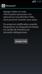 Como restaurar as configurações originais do seu aparelho - Motorola RAZR MAXX - Passo 7