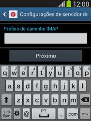 Como configurar seu celular para receber e enviar e-mails - Samsung Galaxy Pocket - Passo 12