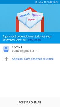Como configurar seu celular para receber e enviar e-mails - Samsung Galaxy On 7 - Passo 15