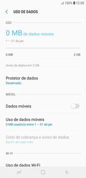 Como ativar e desativar uma rede de dados - Samsung Galaxy J4 Core - Passo 7