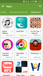Como baixar aplicativos - Samsung Galaxy J5 - Passo 12
