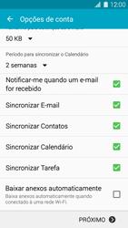 Como configurar seu celular para receber e enviar e-mails - Samsung Galaxy S5 - Passo 9