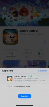 Como baixar aplicativos - Apple iPhone 11 Pro - Passo 13