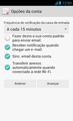 Como configurar seu celular para receber e enviar e-mails - Huawei Y340 - Passo 17