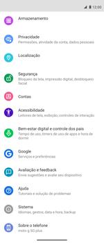 Como encontrar o número de IMEI do seu aparelho - Motorola Moto G 5G Plus - Passo 3