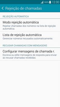 Como bloquear chamadas de um número específico - Samsung Galaxy Note - Passo 8