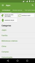 Como baixar aplicativos - Motorola Moto E (2ª Geração) - Passo 6