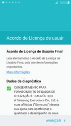 Como configurar pela primeira vez - Samsung Galaxy S6 - Passo 5