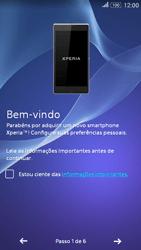 Como configurar pela primeira vez - Sony Xperia E4G - Passo 5