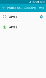 Como configurar a internet do seu aparelho (APN) - Samsung Galaxy J1 - Passo 16