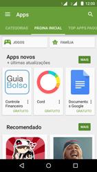Como baixar aplicativos - Motorola Moto G (2ª Geração) - Passo 5