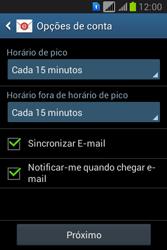 Como configurar seu celular para receber e enviar e-mails - Samsung Galaxy Young - Passo 17