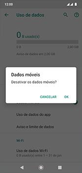 Como ativar e desativar uma rede de dados - Motorola Moto G7 - Passo 6