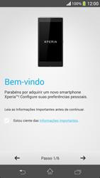 Como ativar seu aparelho - Sony Xperia SP - Passo 4