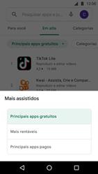 Como baixar aplicativos - Motorola Moto G5 Plus - Passo 7