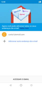 Como configurar seu celular para receber e enviar e-mails - Motorola One - Passo 21