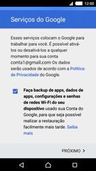 Como configurar seu celular para receber e enviar e-mails - Sony Xperia M4 Aqua - Passo 14