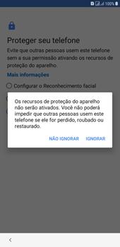 Como configurar pela primeira vez - Samsung Galaxy J4+ - Passo 14