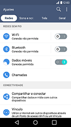 Como usar seu aparelho como um roteador de rede Wi-Fi - LG K10 - Passo 3