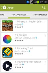 Como baixar aplicativos - Samsung Galaxy Young - Passo 7
