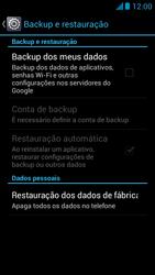 Como restaurar as configurações originais do seu aparelho - Huawei Ascend G510 - Passo 5