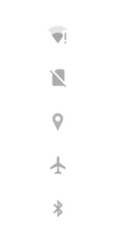 Explicação dos ícones - Motorola Moto G7 Play - Passo 4