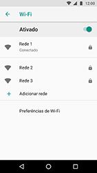 Como configurar uma rede Wi-Fi - Motorola Moto X4 - Passo 8