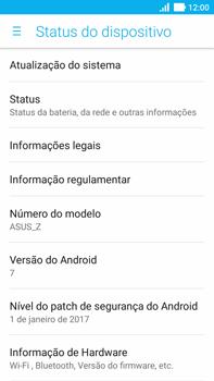 Como encontrar o número de IMEI do seu aparelho - Asus ZenFone 3 - Passo 4