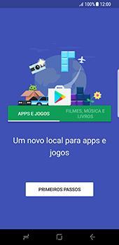 Como baixar aplicativos - Samsung Galaxy S8 - Passo 4