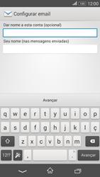 Como configurar seu celular para receber e enviar e-mails - Sony Xperia E4G - Passo 18