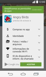 Como baixar aplicativos - LG F60 - Passo 18
