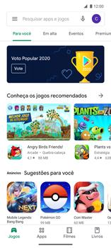 Como baixar aplicativos - Motorola Edge - Passo 4