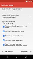 Como configurar seu celular para receber e enviar e-mails - Motorola Moto G (3ª Geração) - Passo 15