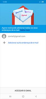 Como configurar seu celular para receber e enviar e-mails - Samsung Galaxy A50 - Passo 13