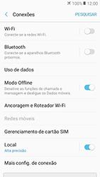 Como ativar e desativar o modo avião no seu aparelho - Samsung Galaxy J2 Prime - Passo 5