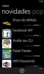 Como baixar aplicativos - Nokia Lumia 1020 - Passo 8