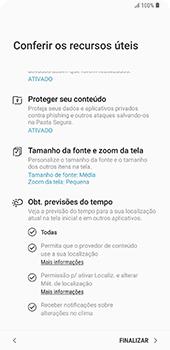 Como configurar pela primeira vez - Samsung Galaxy S9 Plus - Passo 20