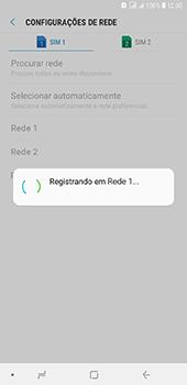 Como selecionar o tipo de rede adequada - Samsung Galaxy J8 - Passo 12