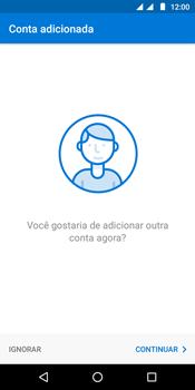 Como configurar seu celular para receber e enviar e-mails - Motorola Moto G6 Play - Passo 9