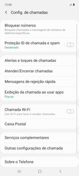 O celular não recebe chamadas - Samsung Galaxy A51 - Passo 16