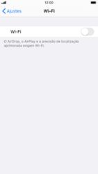 Como configurar uma rede Wi-Fi - Apple iPhone 8 - Passo 3
