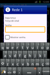 Como configurar uma rede Wi-Fi - Huawei U8667 - Passo 7