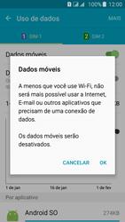 Como ativar e desativar uma rede de dados - Samsung Galaxy J5 - Passo 6