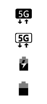 Explicação dos ícones - Samsung Galaxy S21 Ultra 5G - Passo 21