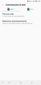 Como selecionar o tipo de rede adequada - Samsung Galaxy J4+ - Passo 7