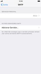 Como configurar seu celular para receber e enviar e-mails - Apple iPhone 8 - Passo 19