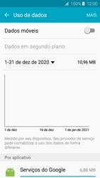 Como ativar e desativar uma rede de dados - Samsung Galaxy J2 Duos - Passo 6